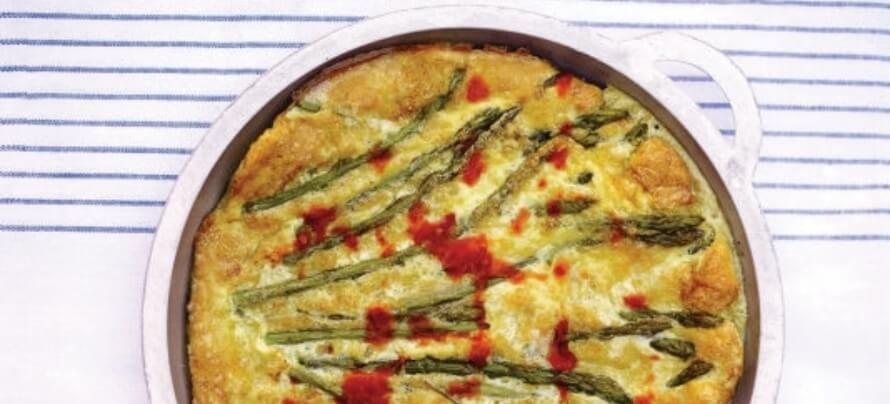 Asparagus Frittata featured