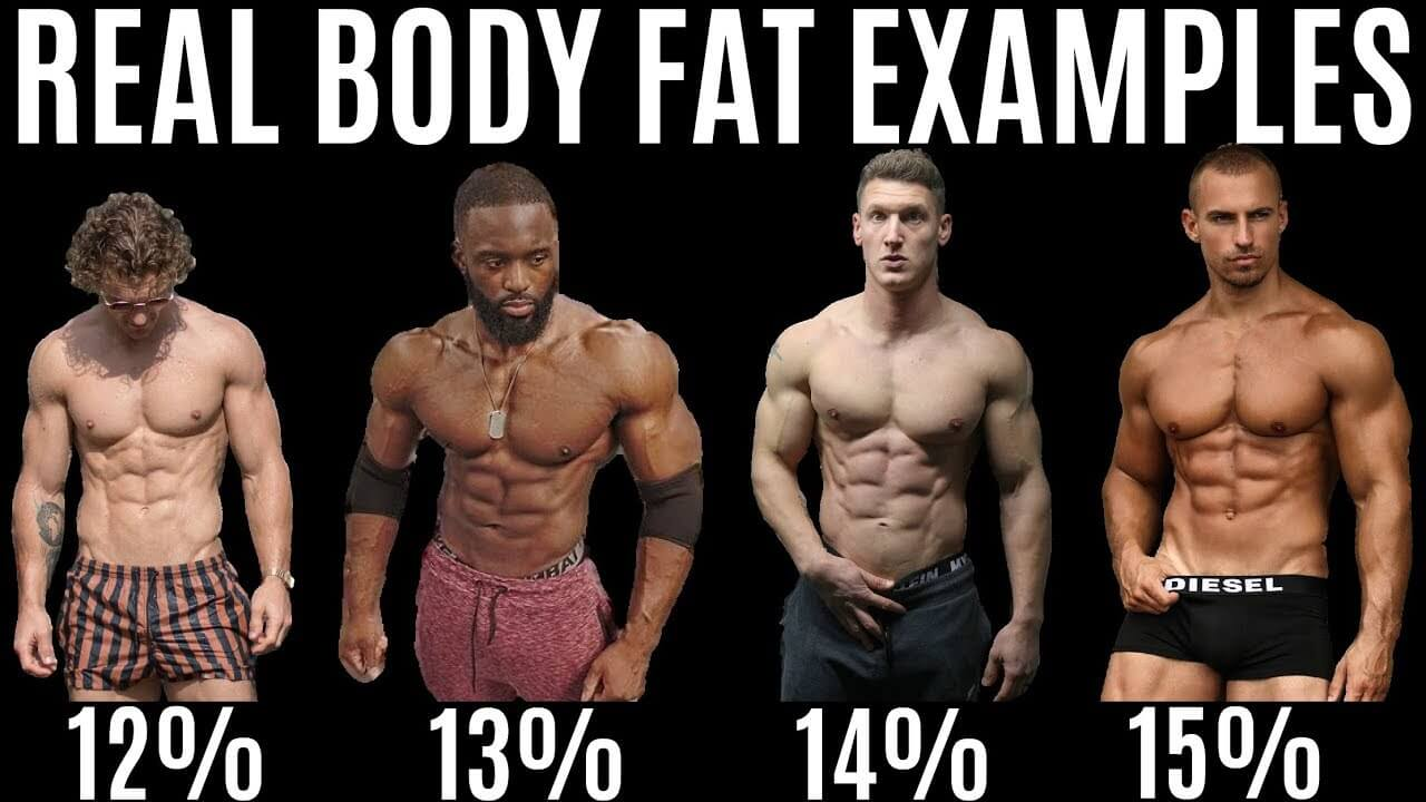 real body fat examples