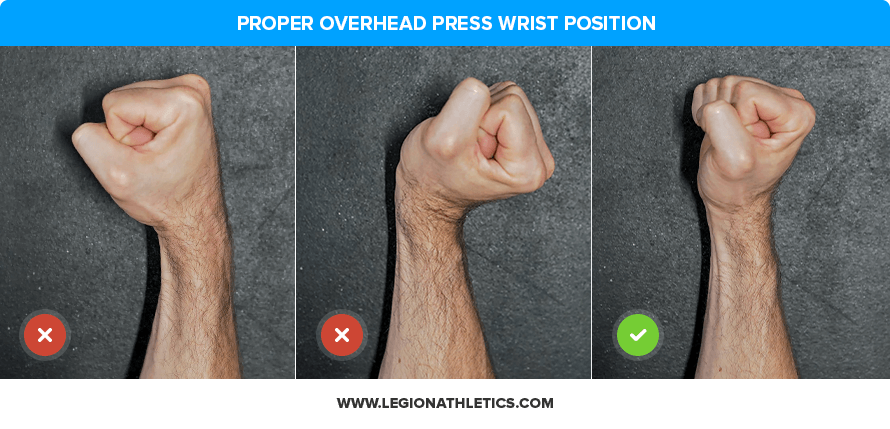 Proper Overhead Press Wrist Position