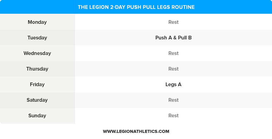 2-Day-Push-Pull-Legs-Routine