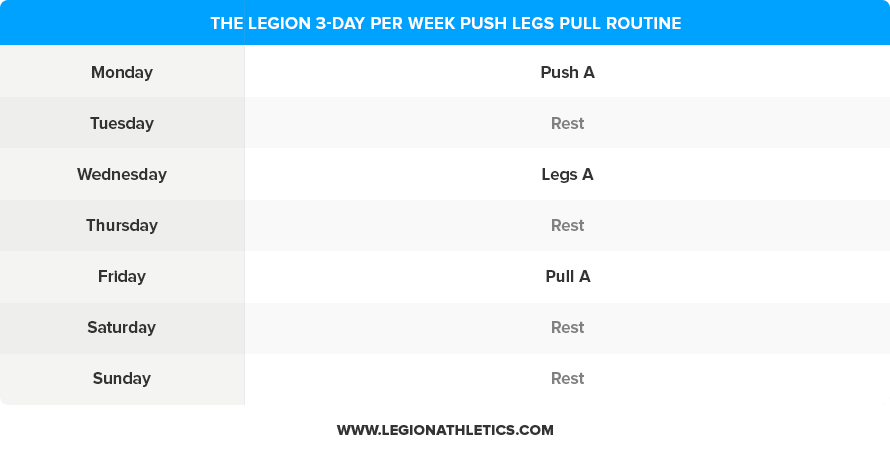 3-Day-Push-Legs-Pull-Routine