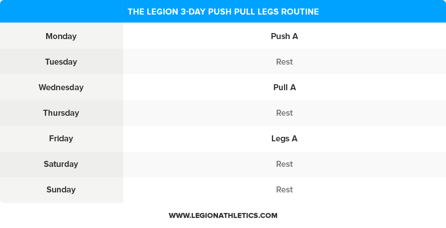 3-Day-Push-Pull-Legs-Routine