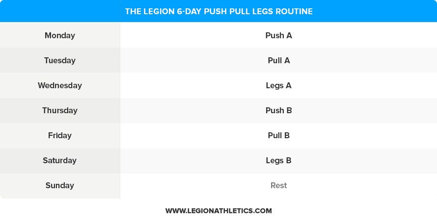 6-Day-Push-Pull-Legs-Routine