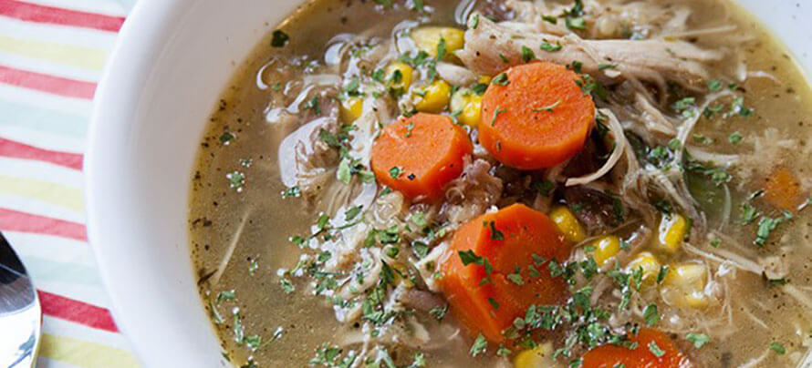 Healing Turkey Soup