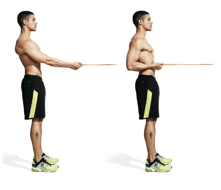 Banded Horizontal Row (1)