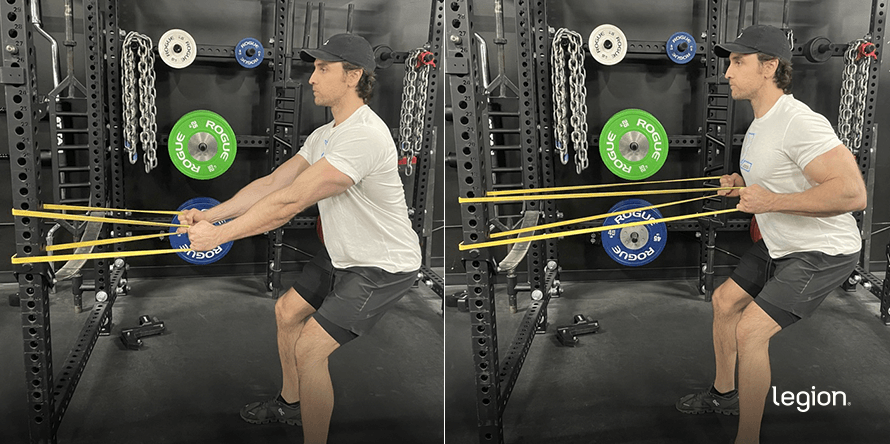 Banded Horizontal Row