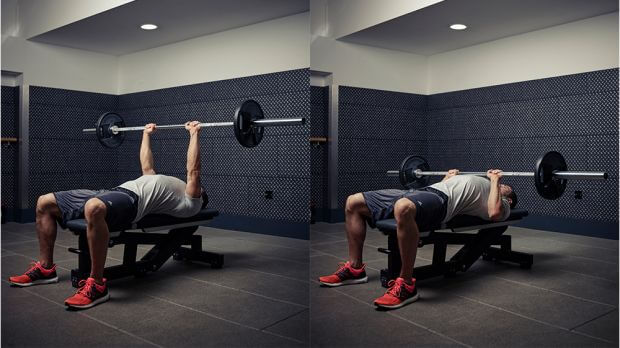 Chest workout for strength