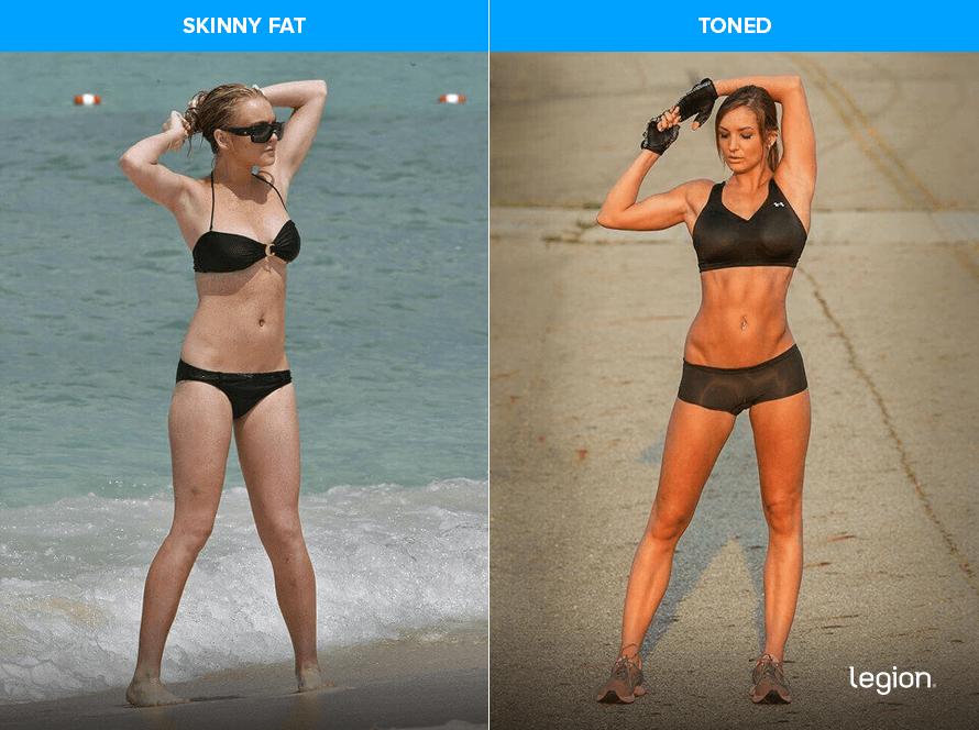 Skinny Fat vs Toned