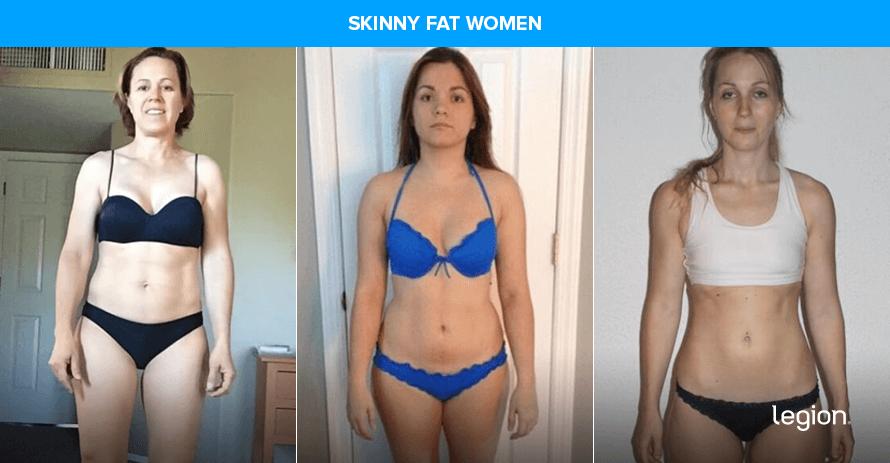 skinny fat women