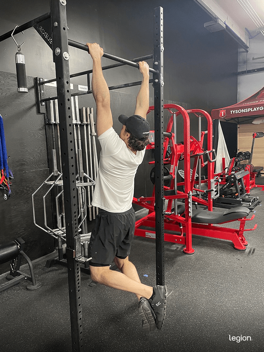 Pull-ups for beginners