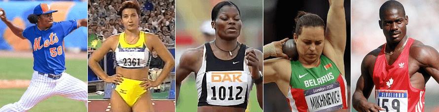 Winstrol Athletes
