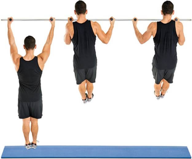 Side-to-Side Pull-up