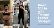 How Sara Used Thinner Leaner Stronger to Lose 55 Pounds and Get Ripped